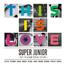 The 7th Album Special Edition 'THIS IS LOVE'/SUPER JUNIOR