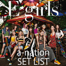 E-girls a-nation 2018 SET LIST/e-girls