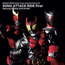 MASKED RIDER series Theme song Re-Product CD SONG ATTACK RIDE First featuring KUUGA KIVA RYUKI/V.A.