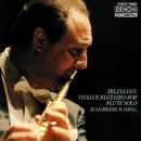 テレマン:無伴奏フルートのための12の幻想曲/ジャン=ピエール・ランパル
