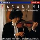 パガニーニ:ヴァイオリン協奏曲 第1番&第2番/ジャン=ジャック・カントロフ/オーヴェルニュ室内管弦楽団