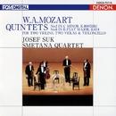 モーツァルト:弦楽五重奏曲 第2番/第6番/スメタナ四重奏団/ヨゼフ・スーク