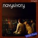 navy&ivory スマートパック/navy&ivory