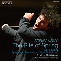 ストラヴィンスキー:バレエ音楽《春の祭典》/バーンスタイン:《ウエスト・サイド物語》よりシンフォニック・ダンス(96kHz/24bit)