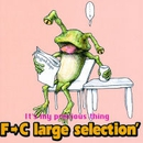 It's my precious thing/F→C large selection