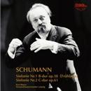 シューマン:(1)交響曲第1番/(2)交響曲第2番/クルト・マズア指揮/ライプツィヒ・ゲヴァントハウス管弦楽団