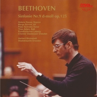 ベートーヴェン:交響曲第9番「合唱つき」/ヘルベルト・ブロムシュテット指揮/シュターツカペレ・ドレスデン、ライプツィヒ放送合唱団、ドレスデン国立歌劇場合唱団