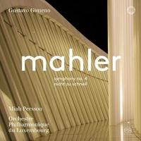 マーラー 交響曲第4番 ピアノ四重奏曲(管弦楽版)/グスターボ・ヒメノ(指揮) ルクセンブルク・フィルハーモニー管弦楽団