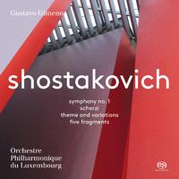 ショスタコーヴィチ交響曲第1番 ヘ短調 作品10/ルクセンブルク・フィルハーモニー管弦楽団 グスタボ・ヒメノ