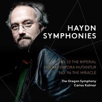 ハイドン:交響曲第53番 ニ長調 「帝国」 Hob.I:53/オレゴン交響楽団 カルロス・カルマー