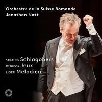 リヒャルト・シュトラウス:バレエ組曲「泡立ちクリーム」ほか/ジョナサン・ノット(指揮) スイス・ロマンド管弦楽団