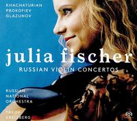 ロシアン・ヴァイオリン・コンチェルト/ユリア・フィッシャー(ヴァイオリン) ロシア・ナショナル管弦楽団 ヤコフ・クライツベルク(指揮)