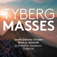 マルツェル・テュベルク:ミサ曲第1&2番~混声合唱とオルガンのための/サウスダコタ合唱団  クリストファー・ジェイコブソン(オルガン) ブライアン・A・シュミット