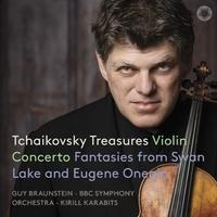 チャイコフスキー・トレジャーズ/ガイ・ブラウンシュタイン(ヴァイオリン)、キリル・カラビツ(指揮)、BBC交響楽団