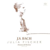 ヨハン・セバスティアン・バッハ:無伴奏ヴァイオリンのためのソナタとパルティータ(全6曲)/ユリア・フィッシャー