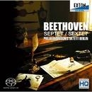ベートーヴェン 七重奏曲 、 六重奏曲/ベルリン・フィル八重奏団