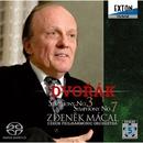 ドヴォルザーク:交響曲第3番、第7番/ズデニェク・マーツァル/チェコ・フィルハーモニー管弦楽団