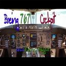 ボーイング767コックピット ANAフェリーフライト シアトル・ボーイング専用空港から羽田空港ヘ/航空サウンド 武田一男プロデュース作品