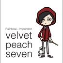 Rainbow - Important/velvet peach seven