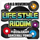 DANCEHALL POWER (LIFE STYLE RIDDIM) -Single/PEQUU & SHADY