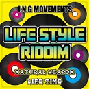 LIFE TIME (LIFE STYLE RIDDIM) -Single/NATURAL WEAPON
