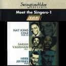 スイングタイム・ビデオ 第4集/キング・コール、サラ、ジェフリーズ、若き日の貴重なヴォーカル版/ナット・キング・コール & トリオ、サラ・ヴォーン、ハーブ・ジェフリーズ