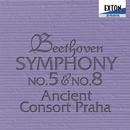ベートーヴェン 交響曲第 5番 &第 8番 (弦楽五重奏版)/ヴァーツラフ・ナーヴラット/エンシェント・コンソート・プラハ