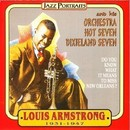 Louis Armstrong Orchestra, Hot Seven, Dixieland Seven/ルイ・アームストロング