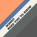Need You To Know - Single/Romeo