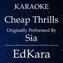 Cheap Thrills (Originally Performed by Sia) [Karaoke No Guide Melody Version]/EdKara
