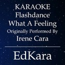Flashdance What a Feeling (Originally Performed by Irene Cara) [Karaoke No Guide Melody Version]/EdKara
