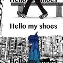 Hello my shoes/秋山黄色