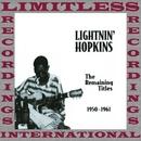 The Remaining Titles: 1950-1961/Lightnin' Hopkins