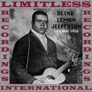 Chicago 1926/Blind Lemon Jefferson