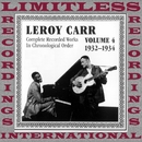 Complete Recorded Works Vol.4, 1932-1934/Leroy Carr