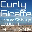 Live at Shibuya WWW X / 13 Jun 2019/Curly Giraffe