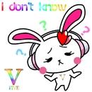 I don't know/V