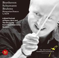 ブラームス:ハンガリー舞曲第1番、3番&10番~パーヴォ・ヤルヴィ&ドイツ・カンマーフィルの世界