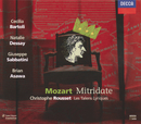 Mozart: Mitridate, Re di Ponte (3 CDs)/Natalie Dessay, Cecilia Bartoli, Brian Asawa, Giuseppe Sabbatini, Les Talens Lyriques, Christophe Rousset