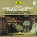 """Mozart: Eine kleine Nachtmusik, K. 525; Symphony No. 32 (Overture), K. 318; Serenade K. 320 """"Posthorn Serenade""""/Walter Singer, Wiener Philharmoniker, James Levine"""