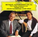 Beethoven: Piano Concertos Nos.1 & 2/Maurizio Pollini, Berliner Philharmoniker, Claudio Abbado