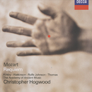 Mozart: Requiem/Emma Kirkby, Carolyn Watkinson, Anthony Rolfe Johnson, David Thomas, Westminster Cathedral Boys Choir, David Hill, The Academy Of Ancient Music Chorus, The Academy of Ancient Music, Christopher Hogwood