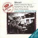 """Mozart: Piano Concerto No.15; Symphony No.36 """"Linz""""/Leonard Bernstein"""