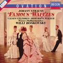 Strauss, J.: Famous Waltzes - The Blue Danube; Emperor Waltz etc./Wiener Philharmoniker, Willi Boskovsky