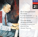 Rachmaninov: Piano Concertos Nos. 1-4 (2 CDs)/Vladimir Ashkenazy, London Symphony Orchestra, André Previn
