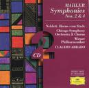 Mahler: Symphonies Nos.2 & 4/Wiener Philharmoniker, Chicago Symphony Orchestra, Claudio Abbado