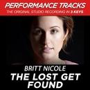 The Lost Get Found (Performance Tracks)/Britt Nicole