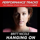 Hanging On (Performance Tracks)/Britt Nicole