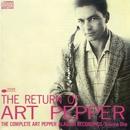 ザ・リターン・オブ・アート・ペッパー/Art Pepper