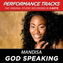 God Speaking (Performance Tracks) - EP/Mandisa